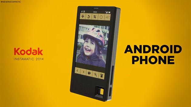 Uno Smartphone Kodak potrebbe arrivare molto presto