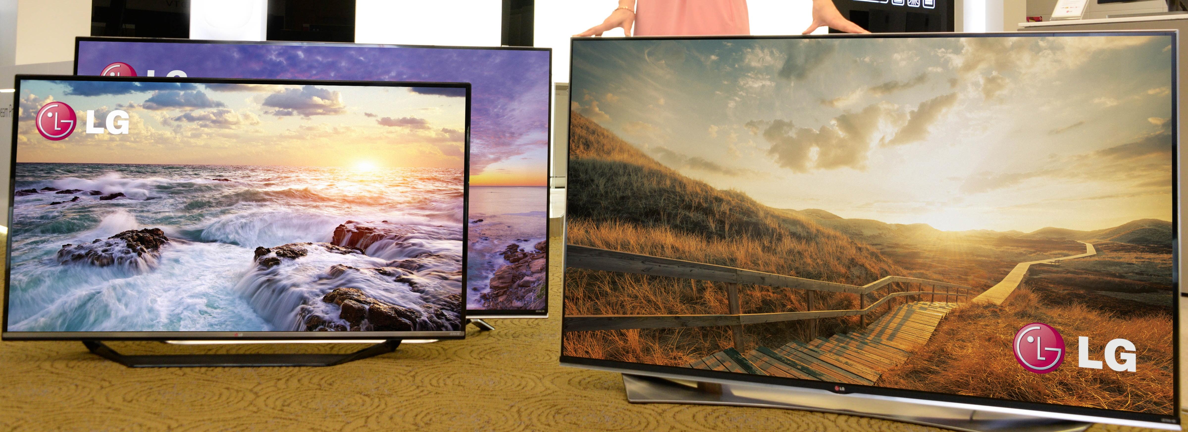 TV a schermo Curvo, Piatto o Flessibile? Lg ne ha per tutti i gusti