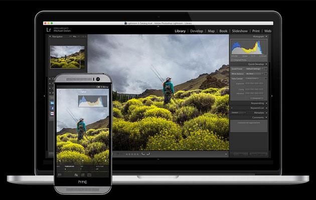 Adobe rilascia LightRoom per Android ma per ora solo sugli Smartphone