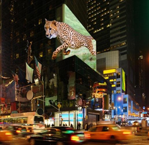 Cartelloni pubblicitari 3D in arrivo nel 2016