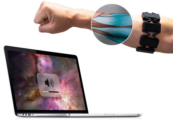 Addio mouse e tastiera, ecco Myo un nuovo modo per controllare il PC