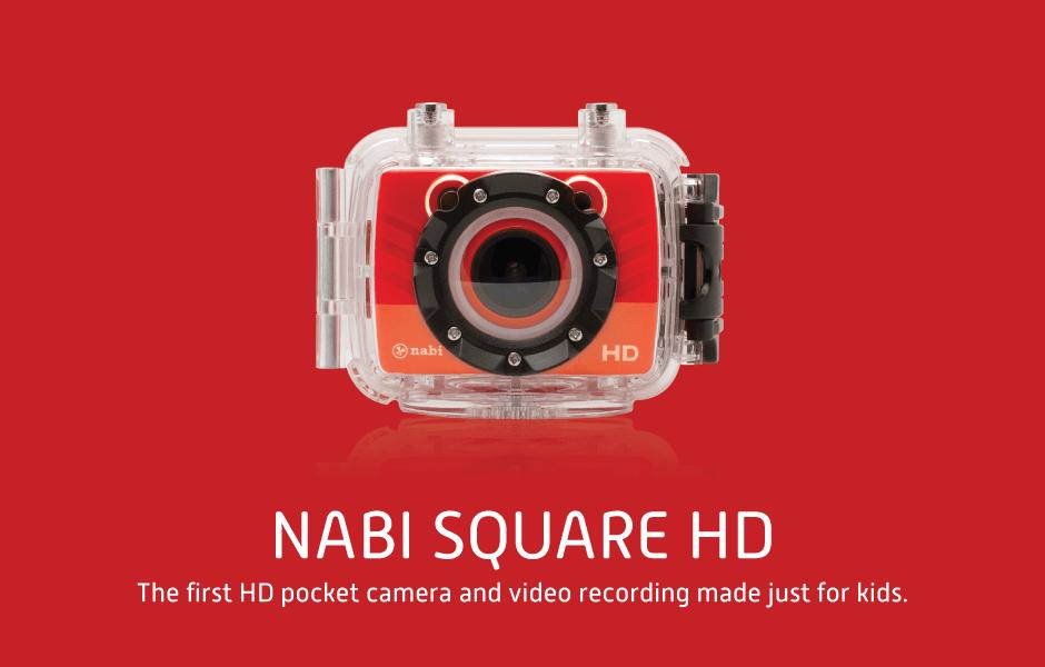 Nabi Square HD l'action cam per i più piccoli