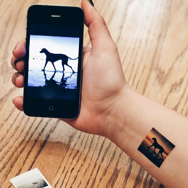 Picattoo trasforma le foto da Instagram in tatuaggi
