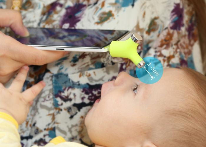 Wishbone: il termometro intelligente più piccolo al mondo