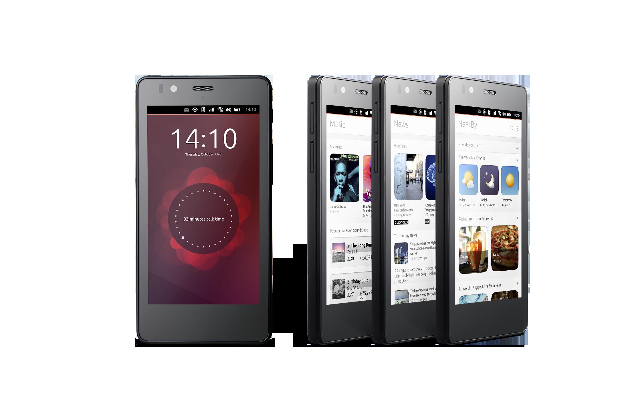 Il primo Smartphone Ubuntu in arrivo, ma ci sono molti dubbi