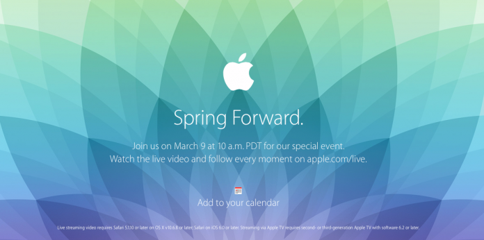 Apple Watch Spring Forward