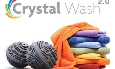 Fare il bucato tutelando l'ambiente è possibile: Crystal Wash 2.0