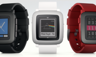 Pebble Time smartwatch con batteria extra-large