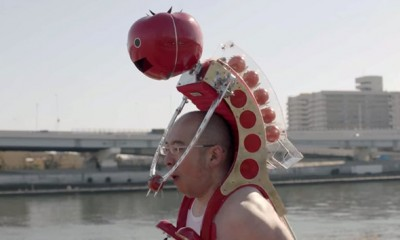 Il robot Petit-Tomatan ti rifornisce di pomodori mentre corri