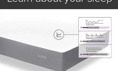 Da bed a smartbed grazie a un coprimaterasso: Luna