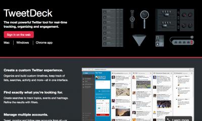 Tweetdeck consente di condividere l'account Twitter con gruppi di lavoro