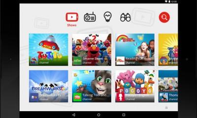 Youtube lancia un'app per bambini