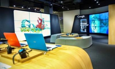 Aperto a Londra il primo Google shop fisico