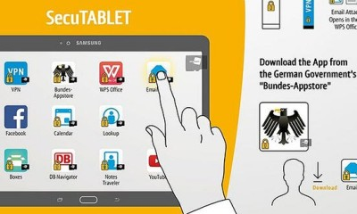 SecuTablet: Samsung, IBM e Blackberry creano il tablet super-sicuro