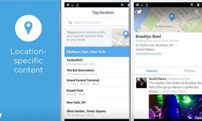 Twitter integra Foursquare per tweet geolocalizzati più precisi