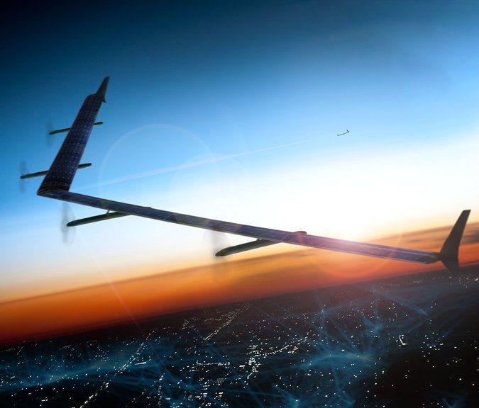 Facebook Aquila il drone che porterà Internet in tutto il mondo