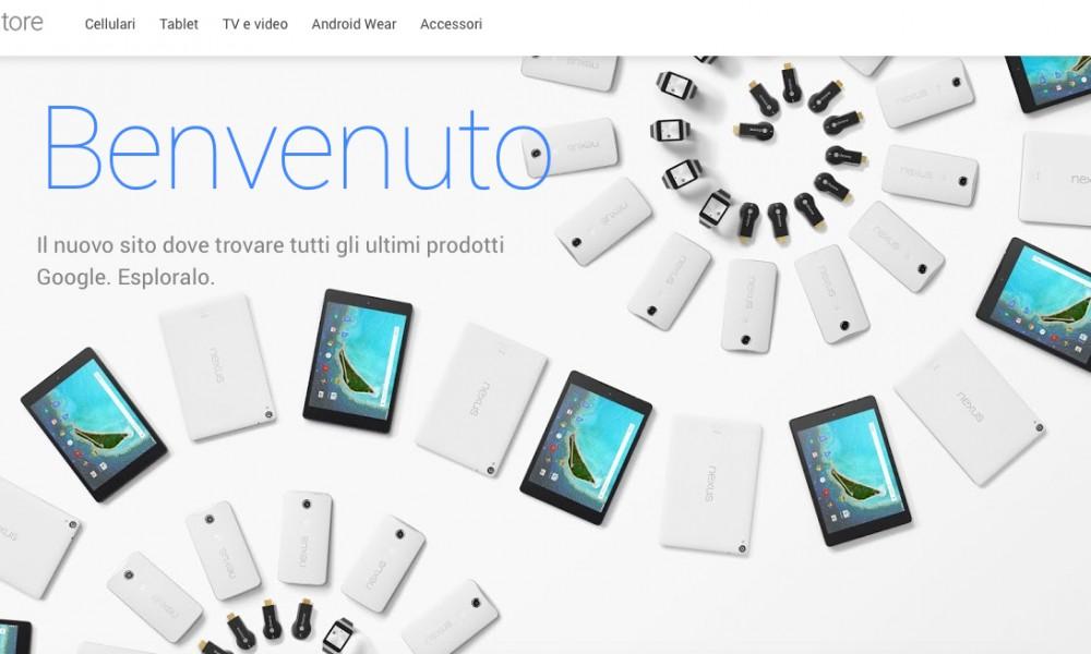 Google apre un nuovo negozio online per l'hardware