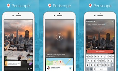 Twitter lancia Periscope. Via ai video live da smartphone