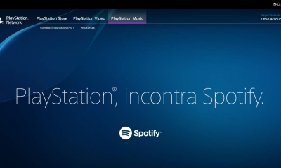 Spotify disponibile su Playstation da oggi
