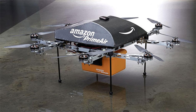 Amazon: volo dei droni al via i test