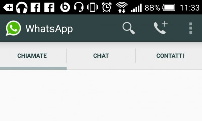 WhatsApp chiamate vocali per Android disponibili senza invito
