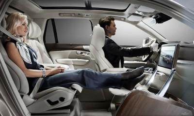 Lounge Console il lusso secondo Volvo presentato a Shanghai