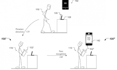 Apple: brevetto per il riconoscimento facciale