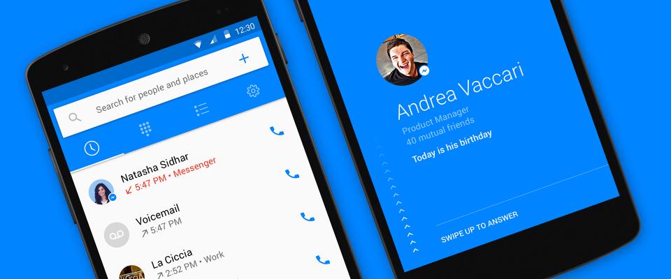 Facebook lancia Hello l'App che ti dice chi ti chiama