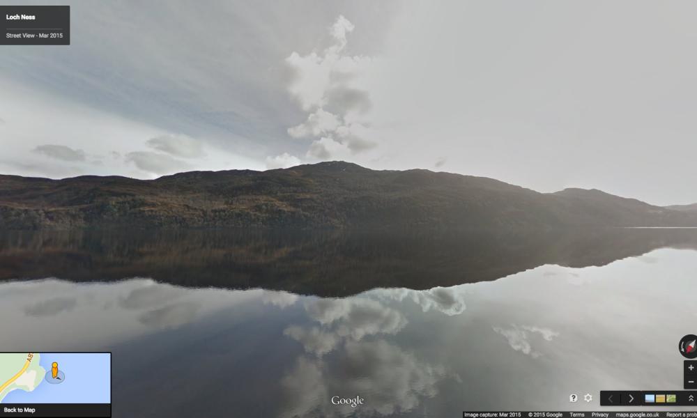 Google Street View alla scoperta del mostro di Loch Ness