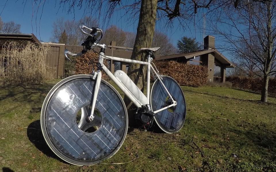 SolarBike la bicicletta elettrica ad energia solare