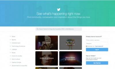 Twitter nuova home, legge anche chi non è iscritto