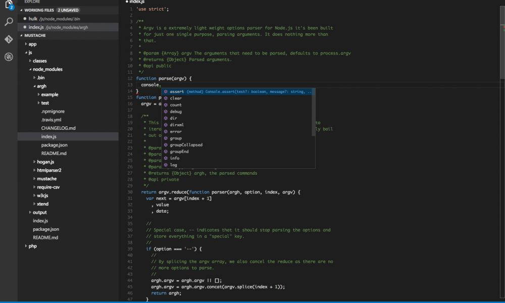 Microsoft rilascia Visual Studio Code per OSX e Linux