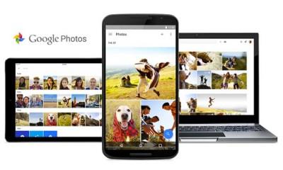 Google Foto spazio illimitato per immagini e video