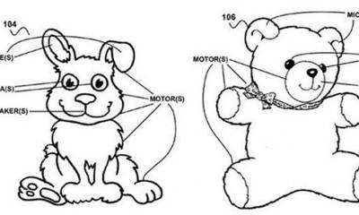 Google brevetta un orsacchiotto per bambini