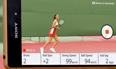 Il sensore smart di Sony per il tennis è in vendita