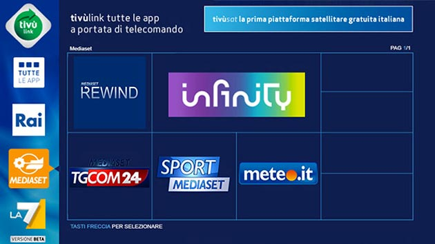 TivùLink: i contenuti di Tivùsat diventano on demand