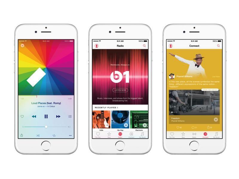 Apple Music il giorno del debutto