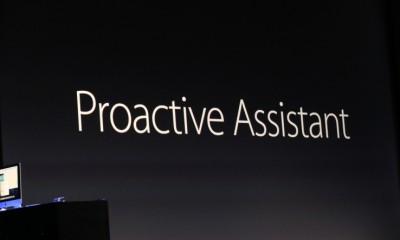 Apple presenta Proactive Assistant concorrente di Google Now