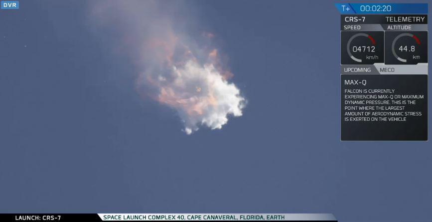 Il cargo Falcon 9 di SpaceX esplode in volo, doveva rifornire l'ISS