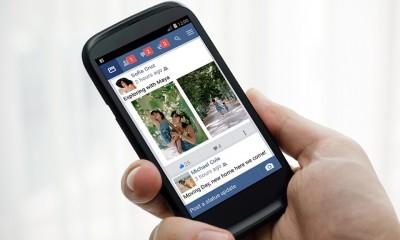 Facebook Lite consuma meno banda e occupa 1MB