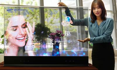 Samsung progetta schermi OLED trasparenti e a specchio