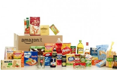 Amazon.it alimentari: inaugurato oggi lo store online