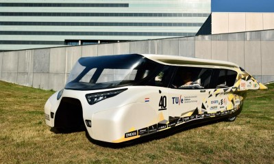 Stella Lux, l'auto che produce più energia di quanto consuma
