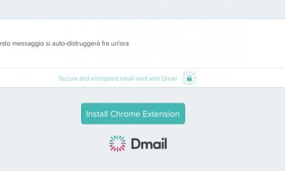 Dmail: i messaggi di Gmail ora si autodistruggono