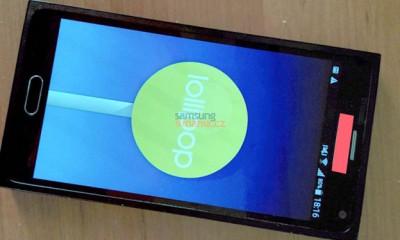 Samsung Galaxy Note 5: la foto rubata finisce sul Web
