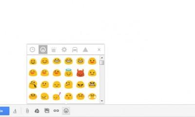 Gmail: gli emoji anche nella posta