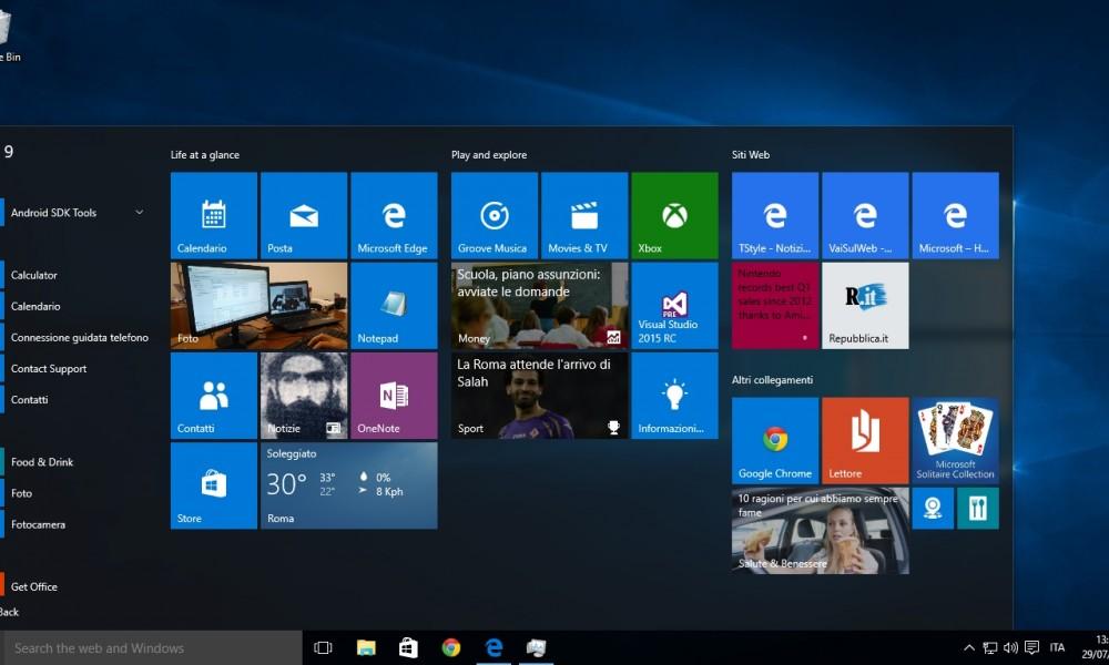 Windows 10 è arrivato : le novità più importanti