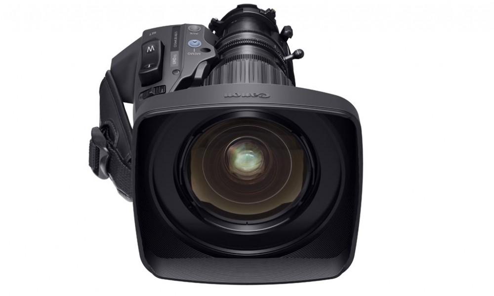 Canon CJ12ex4.3B Lo zoom portatile broadcast 2/3″ 4K più grandangolare al mondo