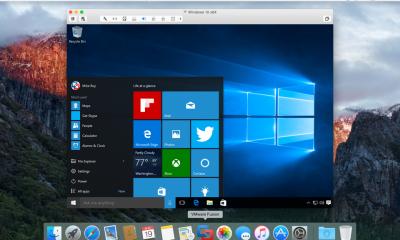 VMware Fusion pronto per far girare Windows 10 su Mac