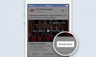 """Facebook annuncia il pulsante """"fai una donazione"""""""